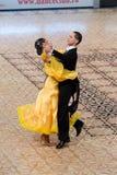 Sala balowa Standard - Taniec Ćwiczy 2012 Zdjęcie Stock