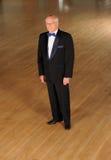Sala balowa starszy tancerz Zdjęcia Stock