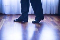 Sala balowa tana łaciński tancerz Fotografia Stock