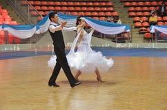 Sala balowa tana wyzwanie w Tajlandia 2013 zdjęcie stock