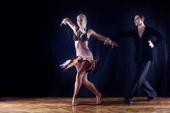 sala balowa tancerze Zdjęcie Royalty Free