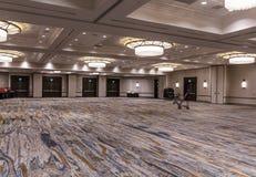 Sala balowa w Hotelowym wnętrzu Obrazy Stock