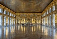 sala balowej Catherine pałac s Zdjęcie Royalty Free