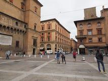 Sala Borsa-Bibliothek im Bologna Lizenzfreies Stockbild