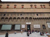 Sala Borsa-Bibliothek im Bologna Stockfoto