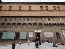 Sala Borsa-Bibliothek im Bologna Stockfotografie