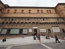 Sala Borsa-Bibliothek im Bologna Lizenzfreie Stockfotografie