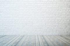 Sala branca vazia Imagem de Stock