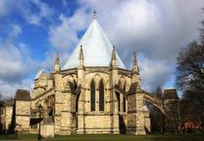 Sala capitolare, cattedrale di Lincon, Lincolnshire Fotografie Stock Libere da Diritti