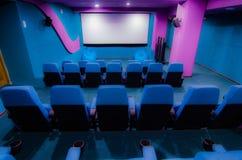 Sala in cinema Immagini Stock Libere da Diritti