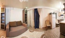 Sala com cores reconfortantes, atmosfera caseiro Foto de Stock