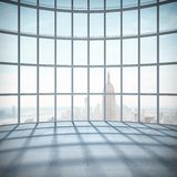 Sala com janela grande Imagem de Stock