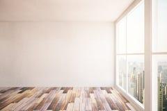 Sala com parede vazia ilustração royalty free