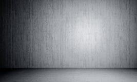 Sala concreta 3d Imagem de Stock Royalty Free