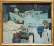 ` Sala d ` aspetto ` 1914年Ettore Beraldini 库存照片