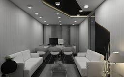 Sala 3D di MD Fotografia Stock