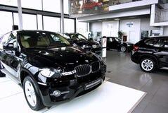 Sala d'esposizione dell'automobile Fotografia Stock