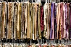 Sala d'esposizione della tessile Immagine Stock Libera da Diritti