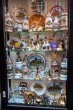 Sala d'esposizione di fabbricazione della porcellana di Meissen Fotografia Stock Libera da Diritti