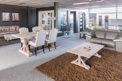 Sala d'esposizione di mobilia moderna Immagine Stock
