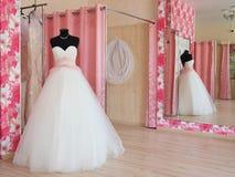 Sala d'esposizione di un salone di nozze fotografia stock