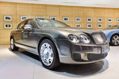Sala d'esposizione raffinata di Bentley a Pechino, Cina Immagini Stock Libere da Diritti