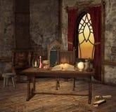 Sala da alquimia Fotografia de Stock Royalty Free