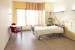 Sala da cama de hospital fotografia de stock royalty free