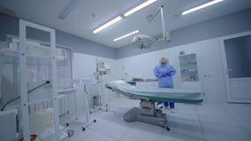 Sala da cirurgia na cirurgia vídeos de arquivo