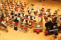 Sala da concerto del teatro di Mariinsky Fotografie Stock Libere da Diritti