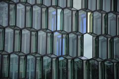 Sala da concerto di Harpa a Reykjavik, Islanda Immagine Stock Libera da Diritti
