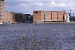 Sala da concerto filarmonica di Amburgo, Germania immagine stock