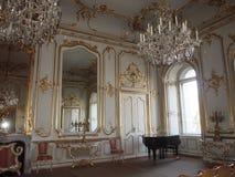 Sala da concerto nel palazzo di Festetics, Keszthely, Ungheria Fotografia Stock