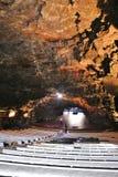 Sala da concerto in un tunnel vulcanico, Lanzarote Fotografia Stock Libera da Diritti