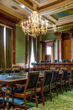 Sala da corte suprema do Capitólio do estado de Iowa Foto de Stock Royalty Free