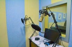 Sala da gravação Fotos de Stock Royalty Free