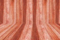 Sala da madeira de Brown ilustração do vetor