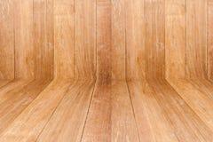 Sala da madeira de Brown foto de stock royalty free