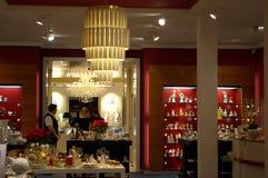 Sala da mostra da porcelana de Meissen Imagem de Stock