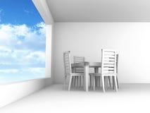 Sala da pranzo Immagine Stock