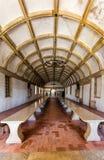 Sala da pranzo del refettorio nel convento di Cristo in Tomar, Portu Immagini Stock Libere da Diritti