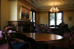 Sala da pranzo del Victorian Immagine Stock