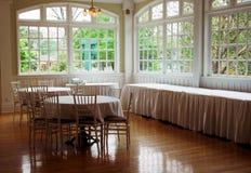Sala da pranzo dell'hotel Immagini Stock