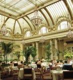 Sala da pranzo dell'hotel Immagine Stock