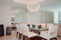 Sala da pranzo di lusso Immagini Stock