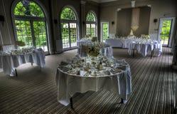 Sala da pranzo di nozze fotografie stock libere da diritti