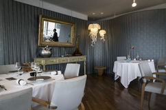Sala da pranzo, Marsiglia, Francia Immagine Stock Libera da Diritti