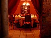Sala da pranzo segreta Immagine Stock