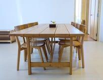 Sala da pranzo semplice Immagini Stock