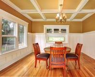 Sala da pranzo in una vecchia casa Fotografia Stock
